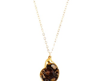 Ammonite Emily Necklace