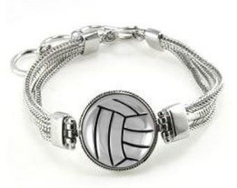 Volleyball Bracelet - Volleyball Jewelry - Volleyball - Gift For Volleyball Player - Volleyball Team Bracelets - Gift For Volleyball Team