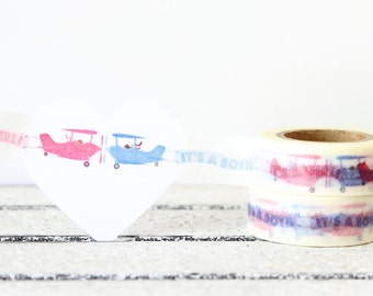 Washi Tape, Baby Washi Tape, Planner Tape, Planner Sticker, Decorative Tape, Planner Accessories, Embellishment, Packaging, Gift Wrapping