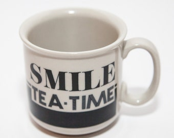 Tea Time Stoneware Mug
