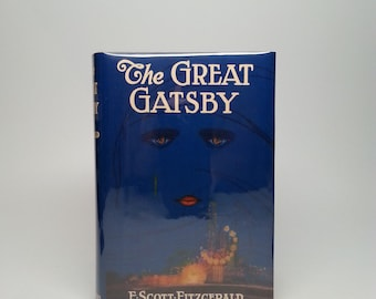 First Edition The Great Gatsby by F. Scott Fitzgerald Published by New Directions 1945 Hardcover Book