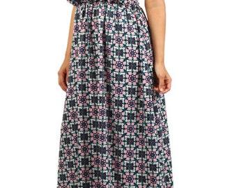 Print Plus Maxi, Plus Maxi Dress, Racer Back Dress, Plus Summer Dress, Plus Boho Dress, Plus Boho Maxi Dress,