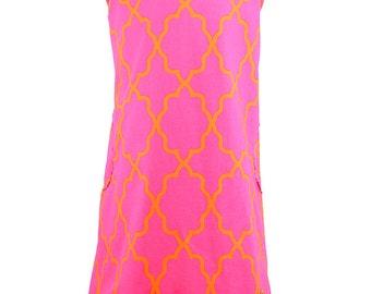 Isa Sorbet pink dress