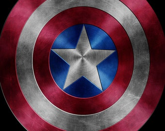 Captain America Courage Print 8X10 Instant Download