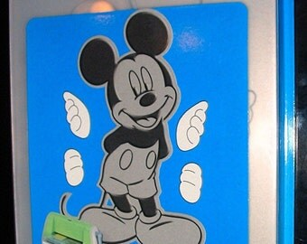 Mickey Mouse Cuttlebug Disney Cut & Emboss Die and Embossing Folder 37-1731
