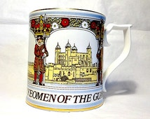 Sutherland China Yeomen of the Guard Limited Edition British Souvenir Cup English Castle Mug Commemorative Peter Jones Collection