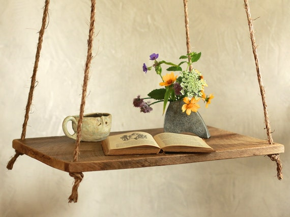 hanging table side table scandinavian by grindstonedesign