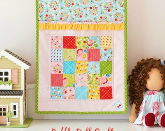 Ruffle Doll Quilt PDF Pattern