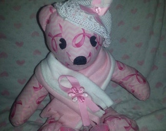 Breast Cancer Awareness Bear