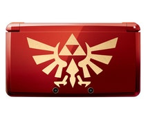 The Legend of Zelda Triforce Nintendo 3DS, Legend of Zelda Triforce Wings Laptop Macbook Pro Decal Sticker Vinyl Decal 59