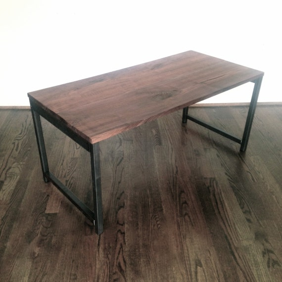 The Gannon Coffee Table Reclaimed Wood & Steel