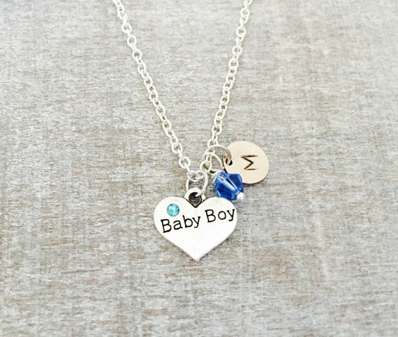 Baby Boy Gifts Jewelry : Items similar to custom gift oxidsed silver plated baby