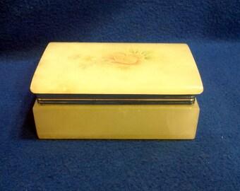Alabaster Trinket Box