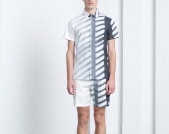 Mens shorts Mens white shorts Bermuda shorts Mens 3/4 shorts