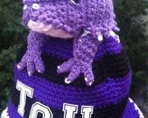 TCU (Texas Christian University) Horned Toad Spirit Hat