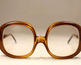 Vintage 80's Eyeglasses Christian Dior Optyl Carey Color