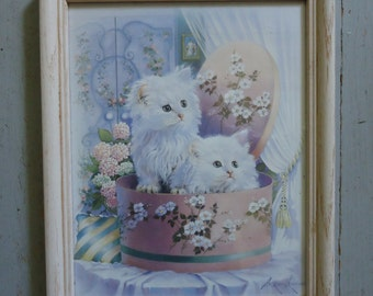 White Kitten Framed Print by Andreas Orpinas