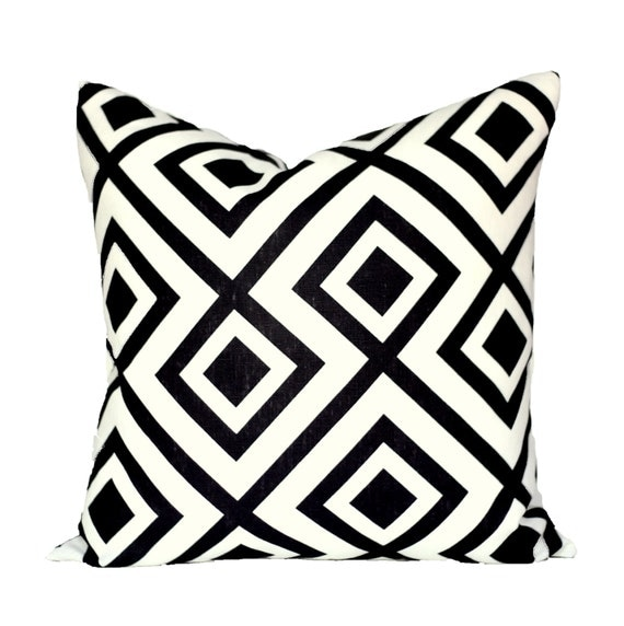 La Fiorentina Domino decorative pillow cover - 1 SIDED OR 2 SIDED - Choose Your Size