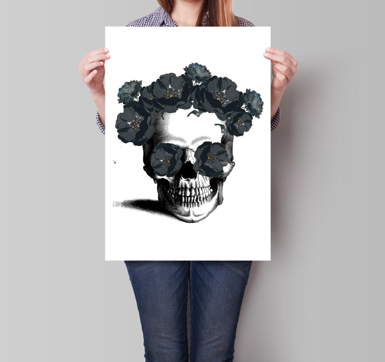 sugar skull decor | etsy