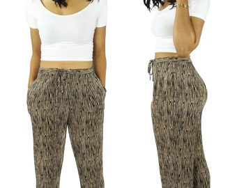 High Waisted Pants - Vintage Harem Pants -
