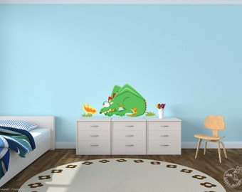 "Wall decal ""Dragon"" wall sticker for boys"