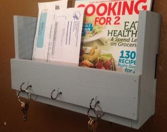 Mail/Key Holder, Magazine Rack, Letter Holder, Key Rack, Mail Organizer