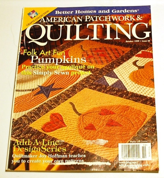 American Patchwork and Quilting Magazine October 1999