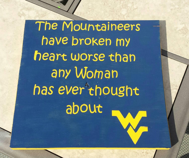 Mountaineers   WVU   WV Football   WVU Football   West Virginia   Mountaineer Football   Let  39 s Go Mountaineers   Man Cave   wv Decor. Wvu decor   Etsy