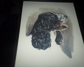 Watercolor Dog Print