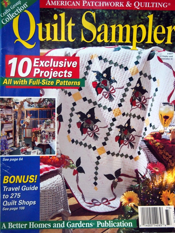 Quilt Sampler By Better Homes And Gardens Quilt Pattern