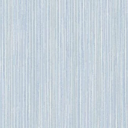 blue and white mini stripe wallpaper classic by handcrafted360