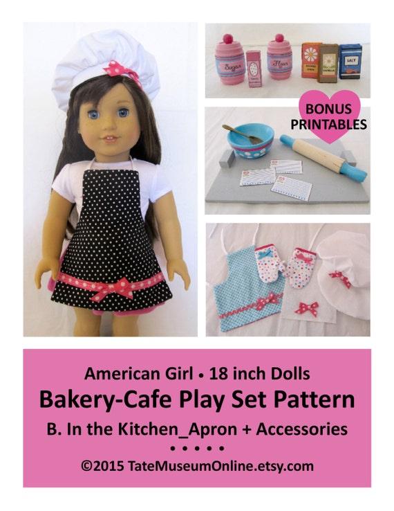 american girl our generation 18 dolls bakery. Black Bedroom Furniture Sets. Home Design Ideas