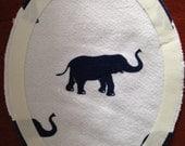 Blue Elephant Tat Patch -- Not the pink elephants you saw last night...blue.