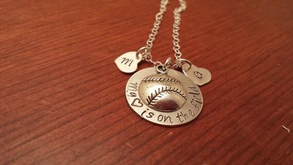 baseball mom necklace personalized baseball mom necklace i