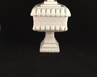Vintage Westmoreland Wedding Dish, Pedestal Dish, Candy Dish
