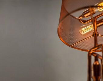 RETO Copper Table Lamp