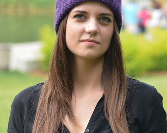 PA0011-Hat  - 100% Baby Alpaca - Made in Canada