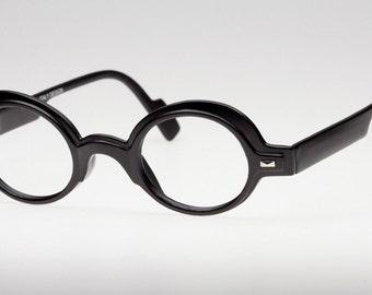 Round Glasses Frames,  Photochromic Reading Glasses, Matte Black Eyeglasses, Glasses for reading, Eyejets Eyewear, Black Glasses, Eyewear