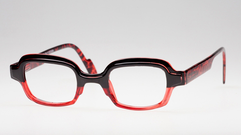 Red Eyeglass Frames Reading Glasses Square Red & Black | 1500 x 843 jpeg 86kB