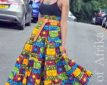 Afro Bohemian Skirt/Dress combo
