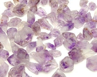 1/4 lb Amethyst Points - Raw Amethyst Points Extra Quality Rough Points Select 1/4 , 1/2 or 1 pound (OB7B2)