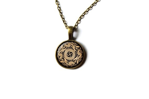 necklace nordic jewelry pagan pendant nw293
