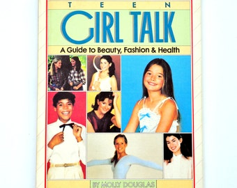 80's Teen Girl Talk Weekly Reader Book