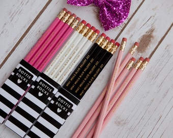 SALE - What Would Blair Waldorf Do? Set of 6 Pencils