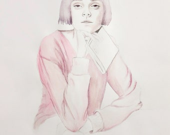 Lottie - Limited Edition Watercolour Print