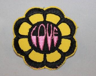 Flower Power Hippie Love Patch