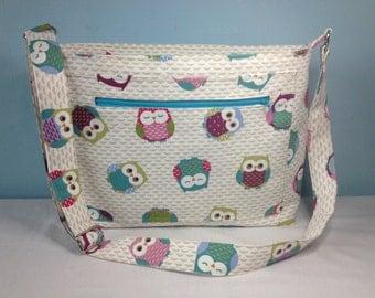 Large Diaper Bag/Baby Changing Bag/Messenger Bag/Nappy Bag