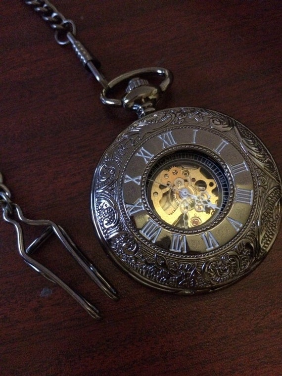 mechanical pocket personalized by pocketwatchkeepsakes