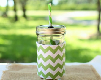 Monogrammed Gifts Chevron Personalized Tumbler, Mason Jar Cup, Monogrammed Tumbler, Personalized Gifts