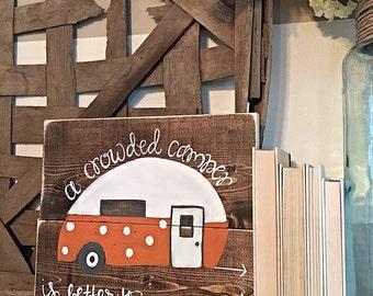 Vintage Camper | Home Decor | Tailgate | Clemson Tigers